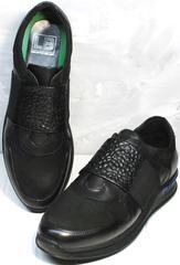 Осенние кроссовки мужские Luciano Bellini 1087 All Black
