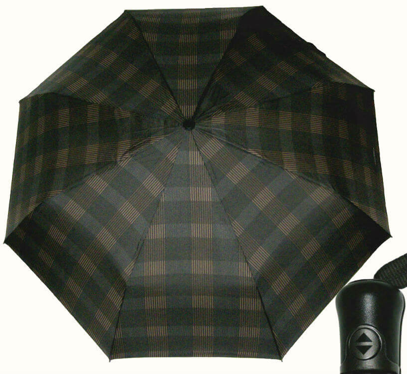 Зонт складной Maison Perletti 16215-brown- Scottish