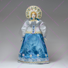 Интерьерная кукла Снегурочка большая
