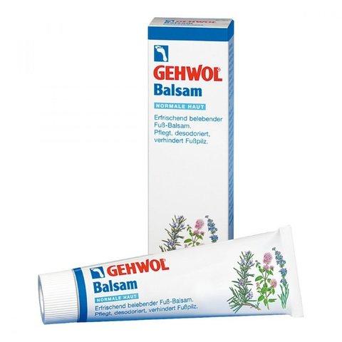 Бальзам тонизирующий для ног Жожоба для нормальной кожи, Gehwol Balsam Normale Haut, 75 мл.
