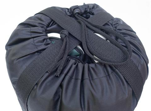 Спальный мешок INDIANA Traveller, компрессионный узел.