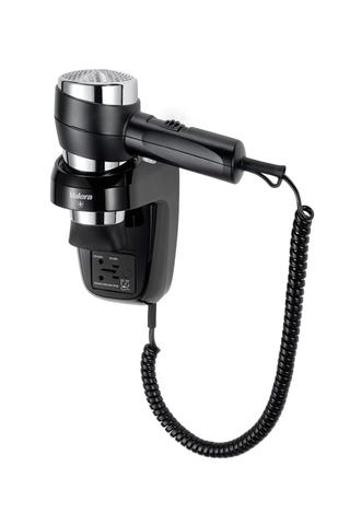 Фен настенный Valera Action Super Plus 1600 Shaver Black/chrome