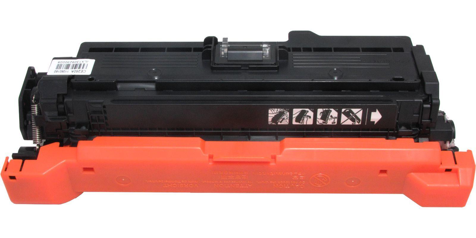 Картридж лазерный цветной MAK© 504A CE250A черный (black), до 5000 стр.