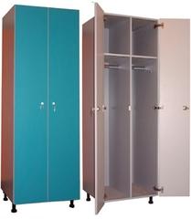 Шкаф 2-х дверный (2 колонки в моноблоке)