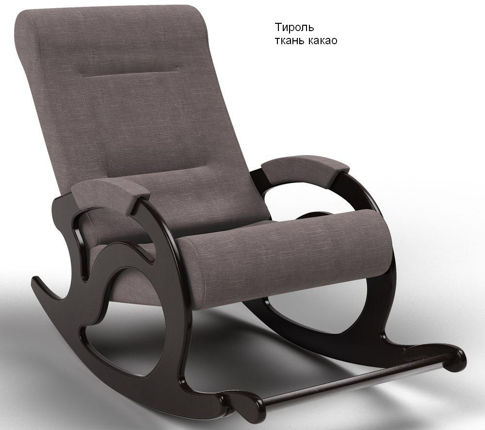 Кресла качалки Кресло-качалка Тироль Ткань тироль_какао.jpg