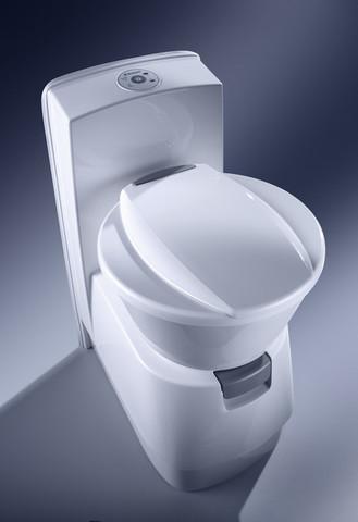 Туалет кассетный с емкостью Dometic CTW 4110