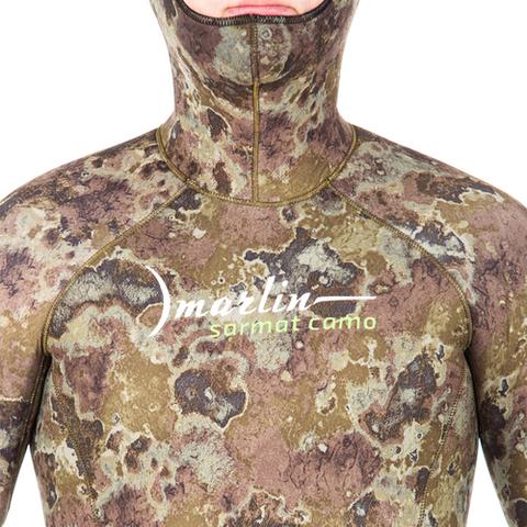 Гидрокостюм Marlin Sarmat Eco Green 7 мм куртка – 88003332291 изображение 8
