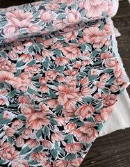 Вискоза штапель Нежные цветы