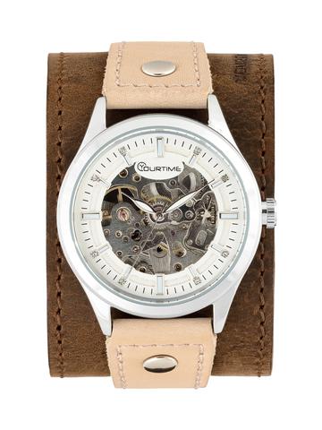 Часы скелетоны мужские механические Age YOURTIME