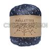 Wool Sea Paillettes 35 (маренго)