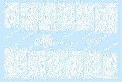 Слайдер наклейки Arti for you цвет белый №W17