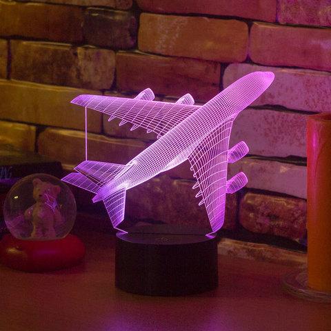 3D светильник Авиалайнер