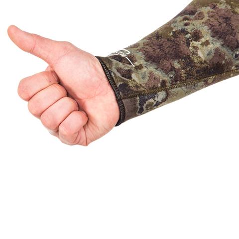 Гидрокостюм Marlin Sarmat Eco Green 7 мм куртка – 88003332291 изображение 9