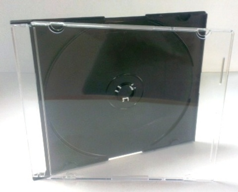 CD box SLIM черный (1/200)