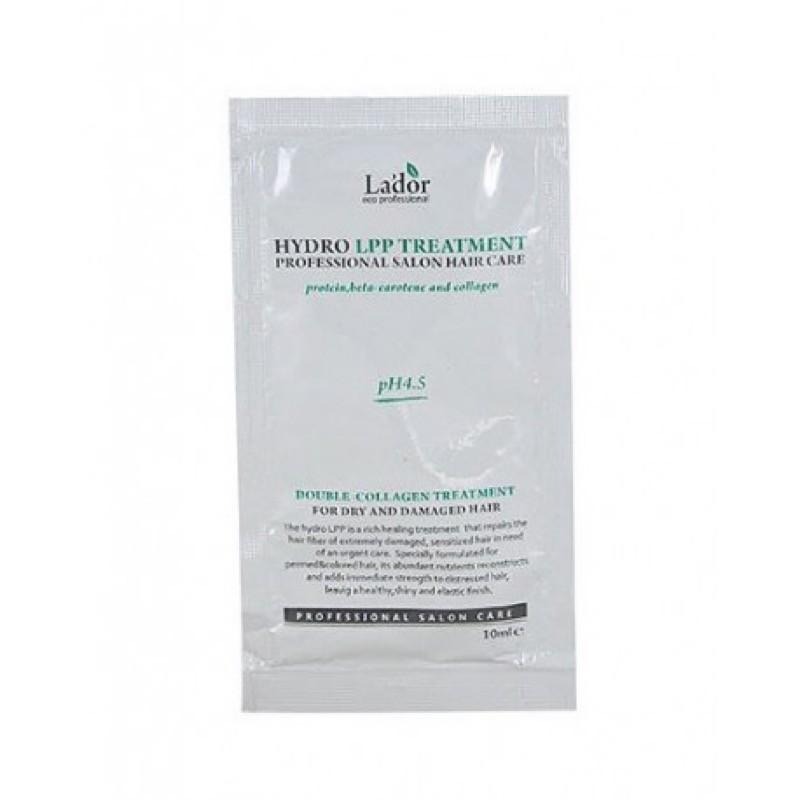 Lador Маска для волос восстанавливающая  LA'DOR  Eco Hydro Lpp Treatment pouch 10 мл lador-eco-hydro-lpp-treatment-uvlazhnyayusch_POUCH.jpg