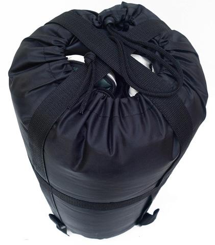 Спальный мешок INDIANA Traveller, в собранном виде.