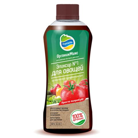ОрганикМикс Эликсир №1 для овощей 0,25л