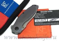 Нож CKF Бауги/Baugi (M390, титан)