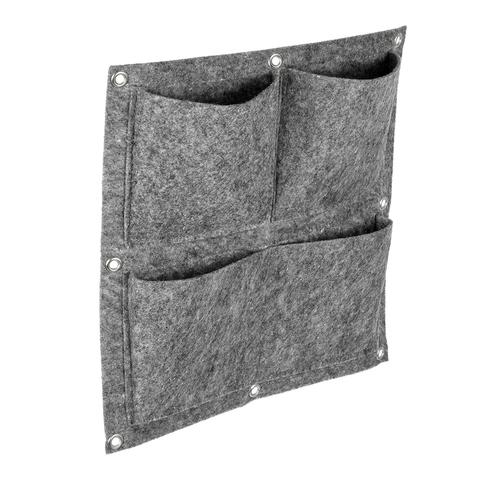 Вертикальная грядка, 4 кармана, 35x35 см