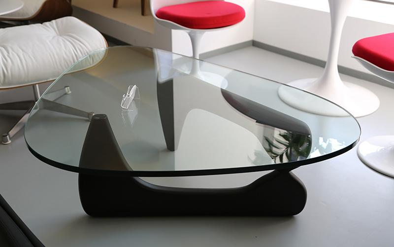 Стол журнальный Isamu Noguchi Style Coffee Table черный - вид 2