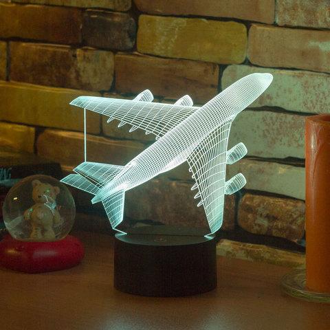 3D лампа Авиалайнер