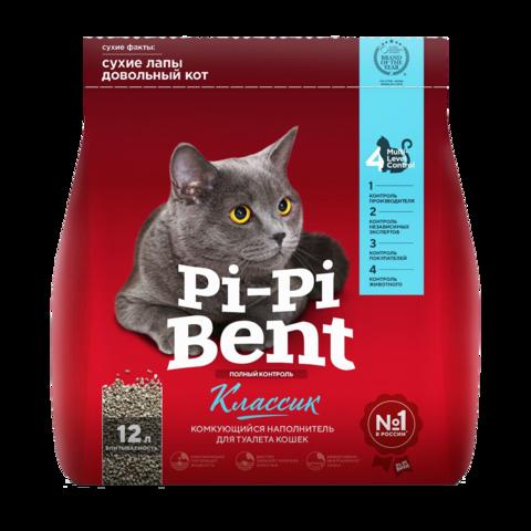 Pi-Pi-Bent Классик Наполнитель для туалета кошек комкующийся