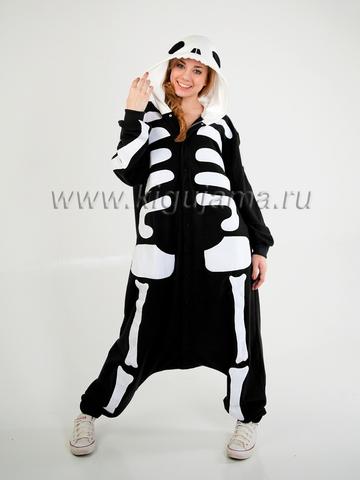 "Пижама кигуруми ""Скелет"""