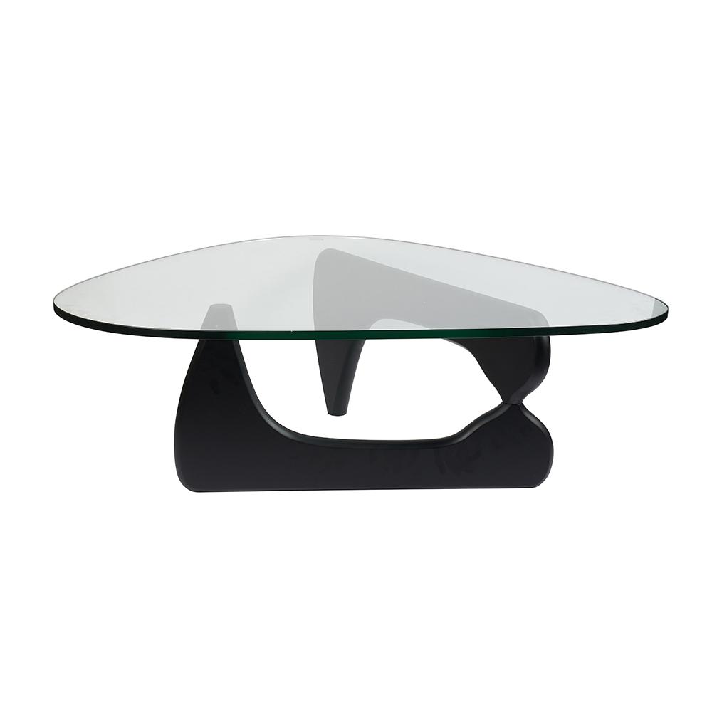 Стол журнальный Isamu Noguchi Style Coffee Table черный - вид 1
