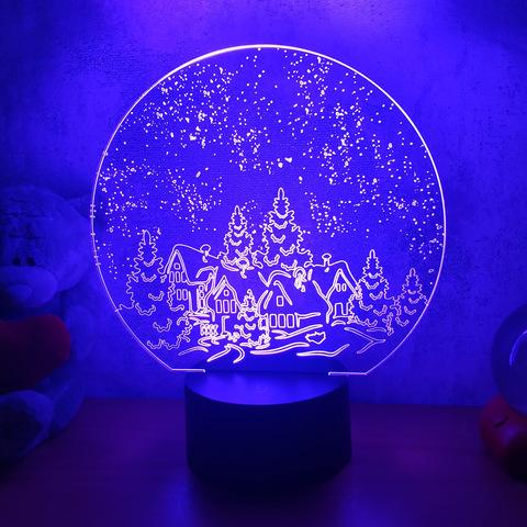 Светильник Зимняя ночь