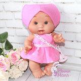 Пупс Nines D'Onil Милашка в розовом платье 26 см