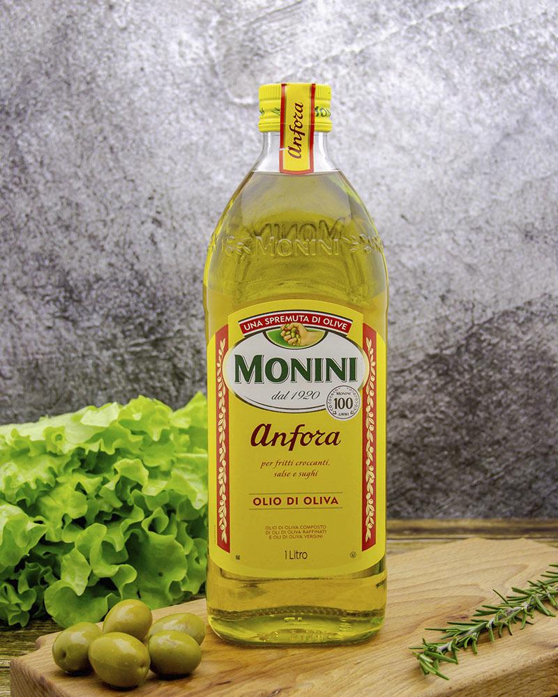 Масло оливковое Monini Анфора 1 л.