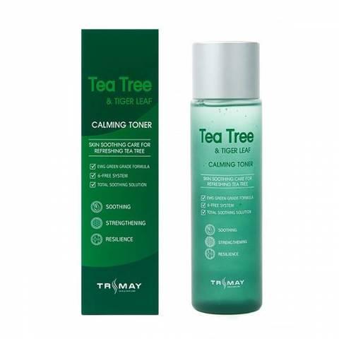 Trimay Tea Tree & Tiger Leaf Calming Toner противовоспалительный тонер с чайным деревом и центеллой