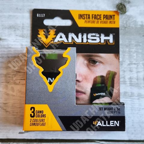 Грим маскировочный Allen Vanish три цвета в стике