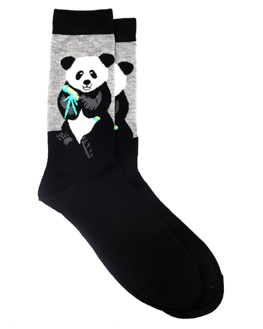 Носки р.37-44 Панда с бамбуком