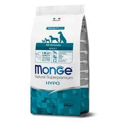 Корм для собак Monge Dog с лососем и тунцом, гипоаллергенный