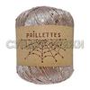 Wool Sea Paillettes 113 (какао)