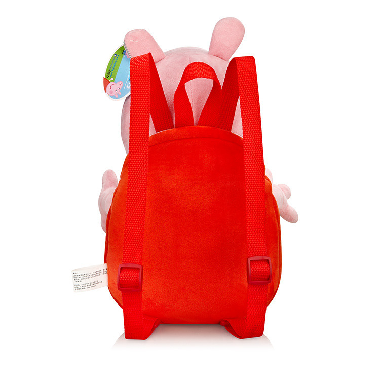 Свинка из мультфильма рюкзак игрушка для малышей