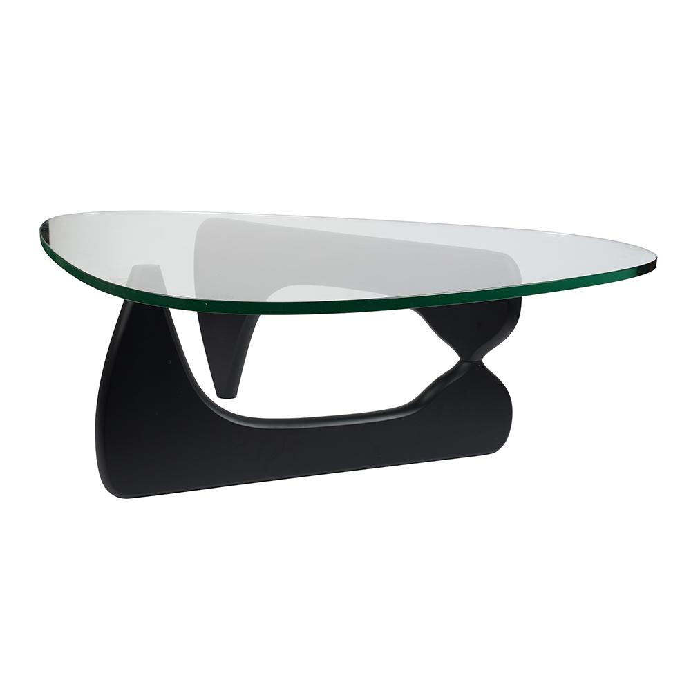 Стол журнальный Isamu Noguchi Style Coffee Table черный - вид 3