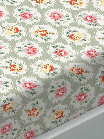 Простынь на резинке  -Британские традиции- натяжная 90х200х26 см 1,5-спальная