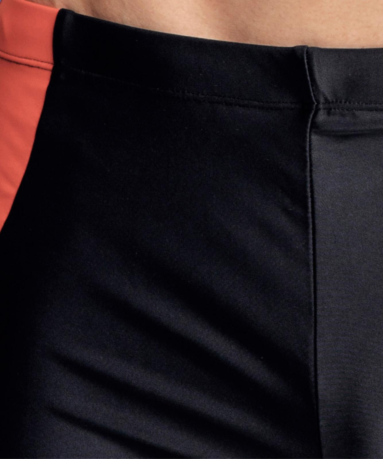 Купальные шорты мужские Atlantic, 1 шт. в уп., полиамид, черные, KMS-312