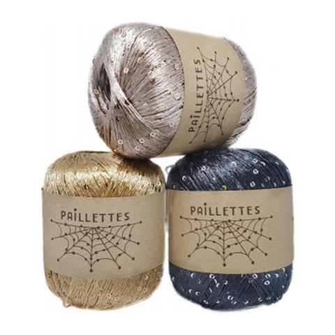 Wool Sea Paillettes (100% полиэстер, 50г/275м)