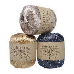 Wool Sea Paillettes