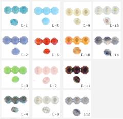 Бусины стеклянные 10 мм. , (выбрать цвет)