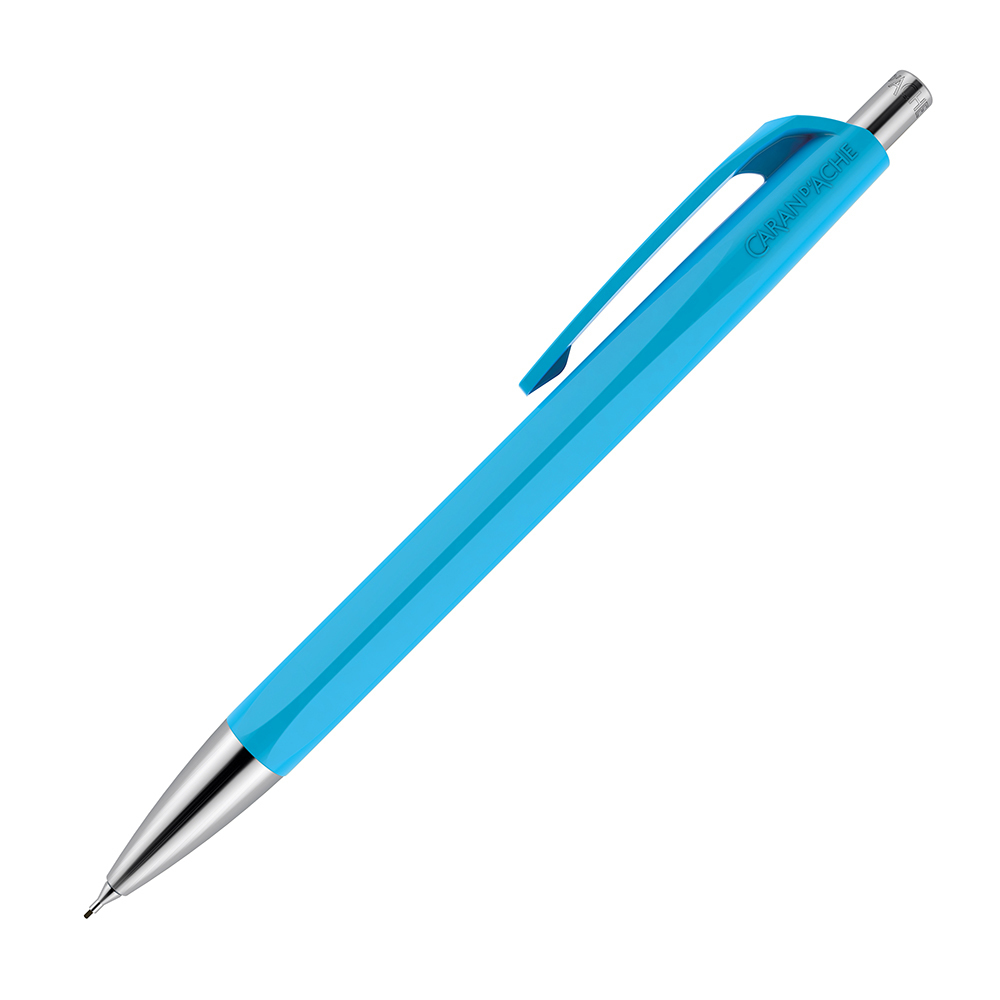 Carandache Office Infinite - Turquoise, механический карандаш, 0.7 мм, подар. упак.