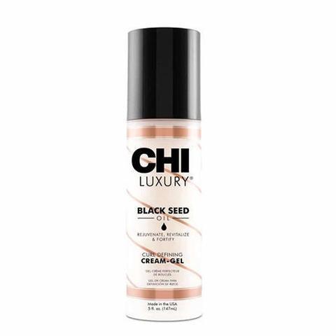 CHI | Крем-гель CHI Luxury с маслом семян черного тмина для укладки кудрявых волос, (147 мл)