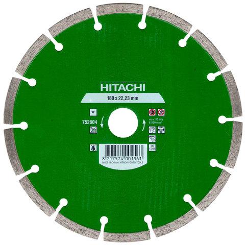 Диск алмазный  универсальный HITACHI 180 мм
