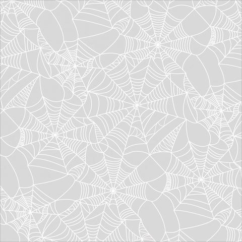 Ацетатный лист с рисунком 30 х30 см - Cobwebs