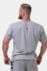 Мужская футболка Nebbia Golden Era T-shirt 192 Light grey
