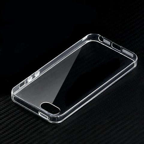 Силиконовый чехол ультратонкий Infinity Slim для Iphone 5, 5s, SE (Прозрачный)