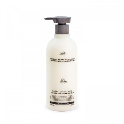 Lador moisture balancing shampoo Бессиликоновый увлажняющий шампунь для волос 530 мл